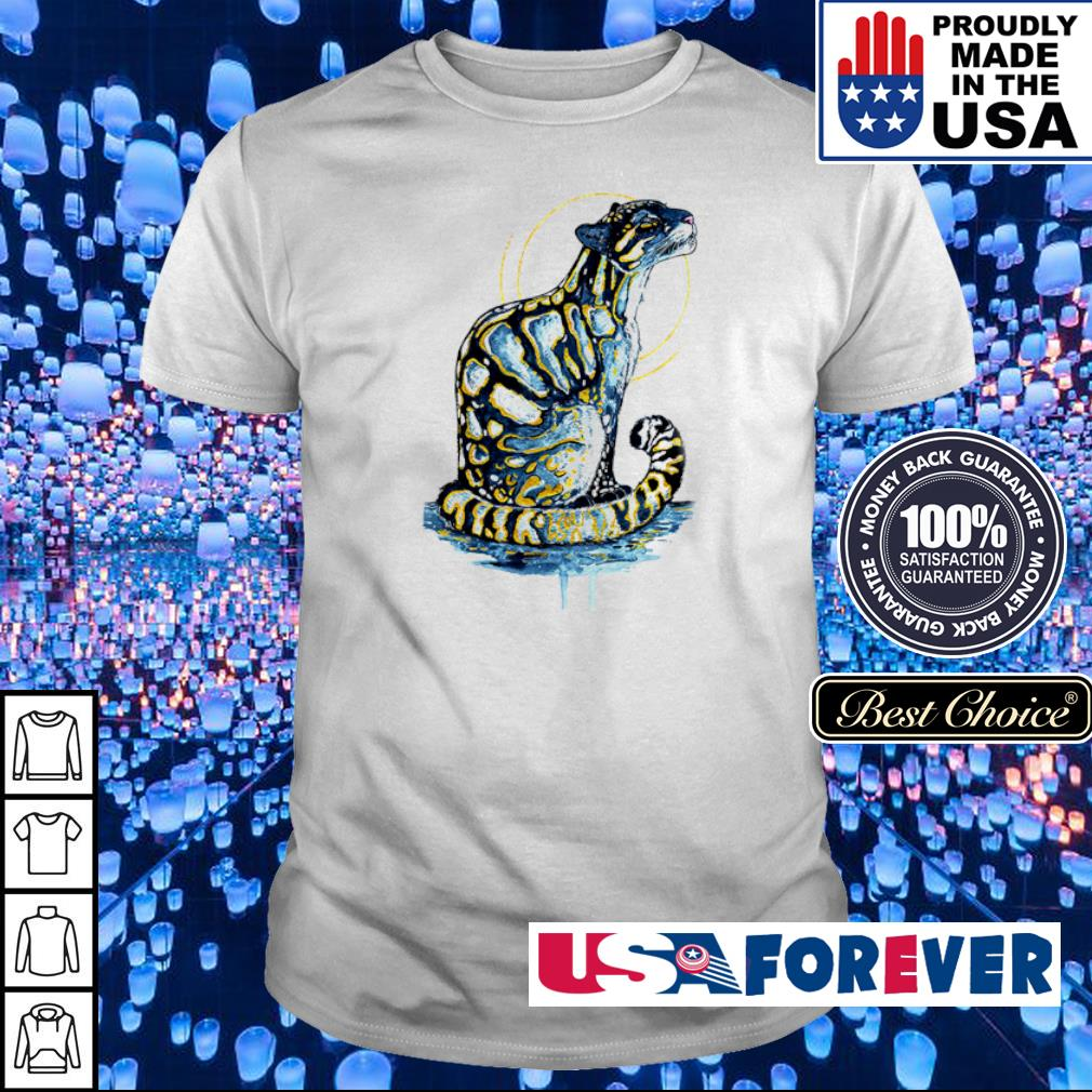 Awesome golden clouded leopard shirt