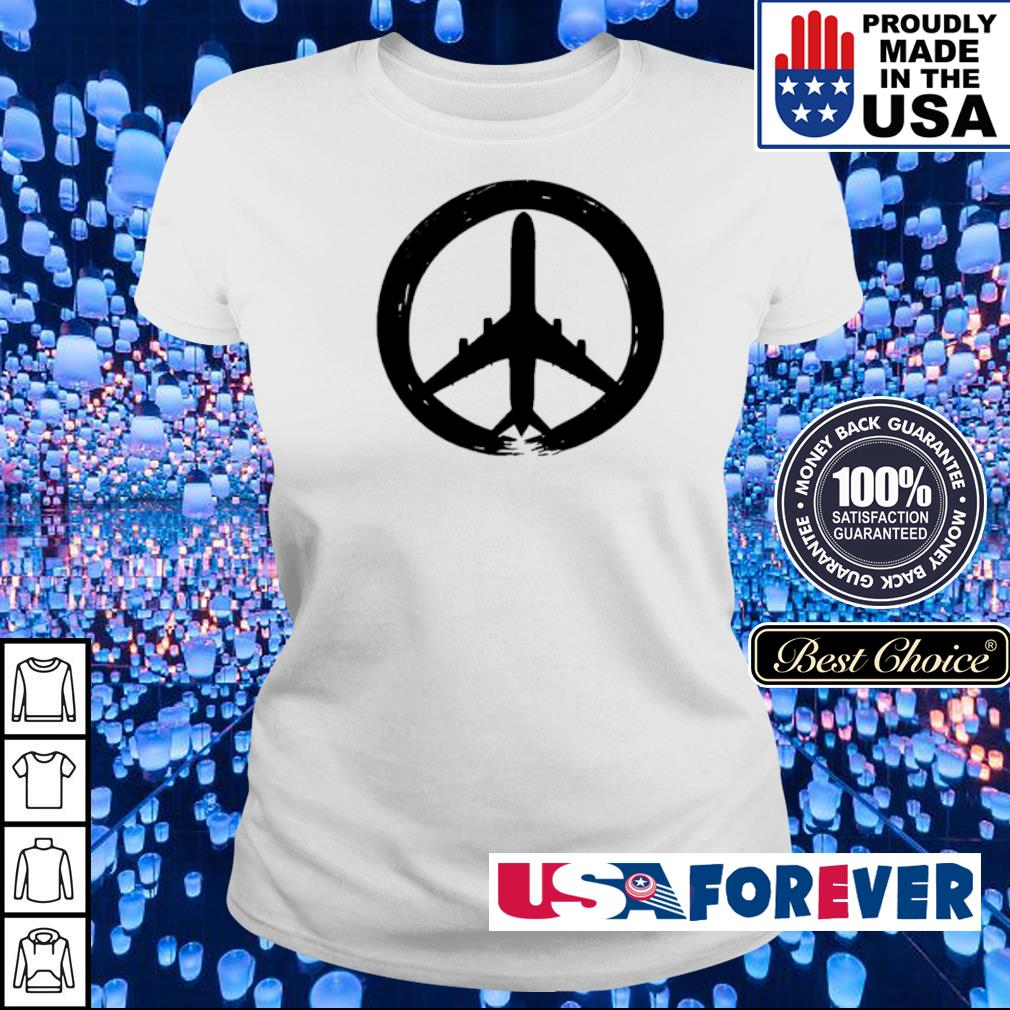 Awesome hippie logo plane s ladies