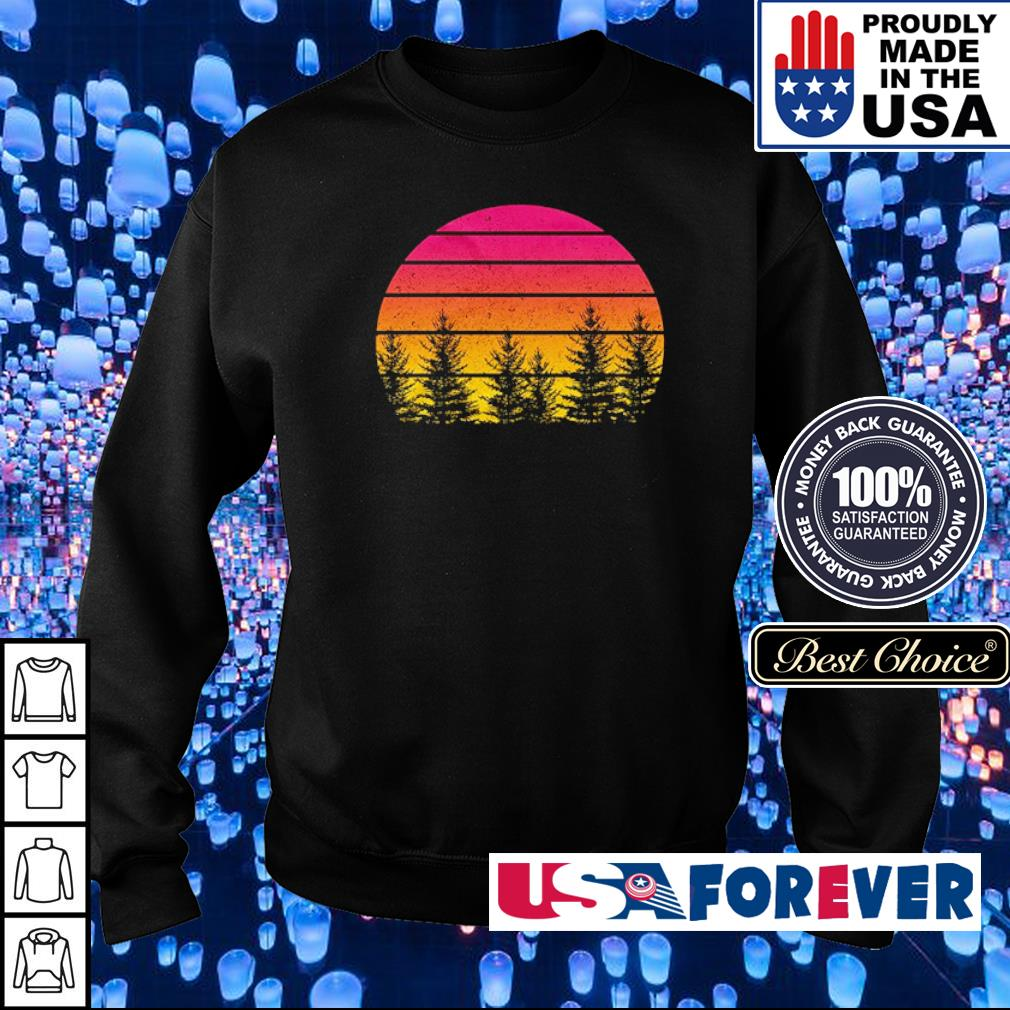 Awesome tree vintage retro s sweater
