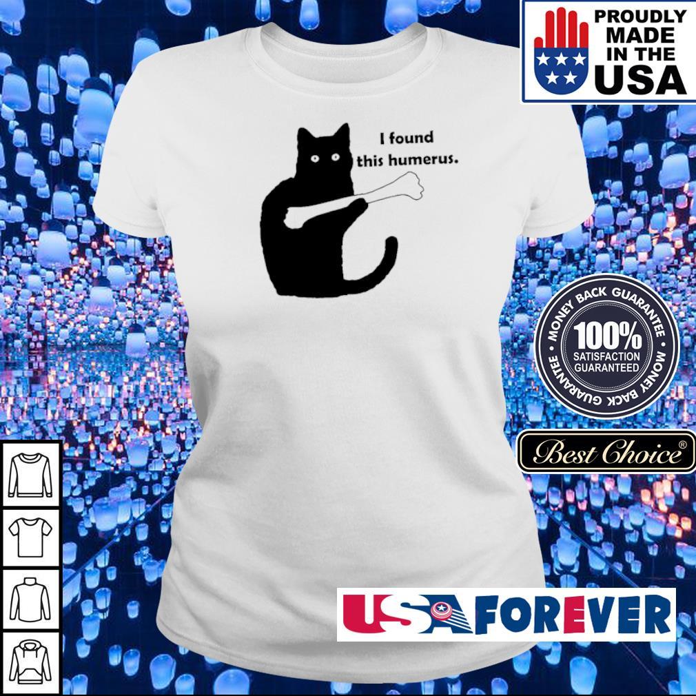 Black cat I found this humerus s ladies