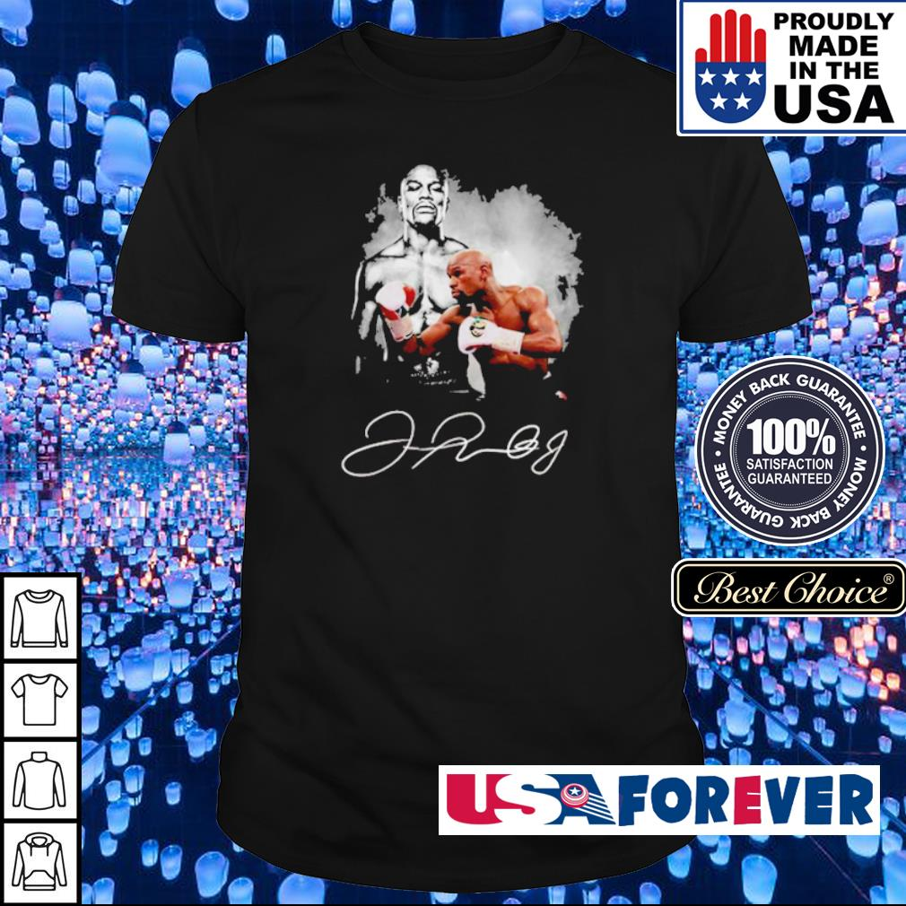 Boxing legend Floyd Mayweather signature shirt