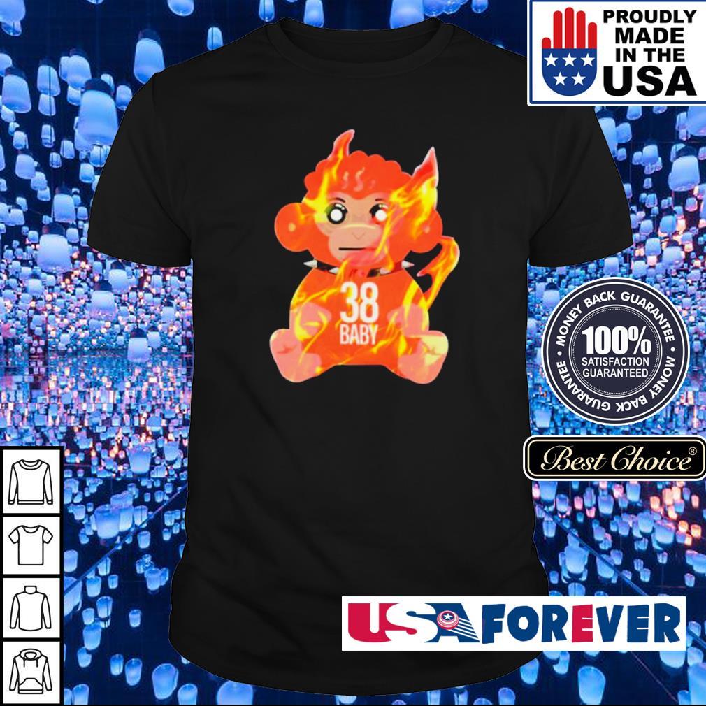 Burning monkey doll never broke again 38 shirt