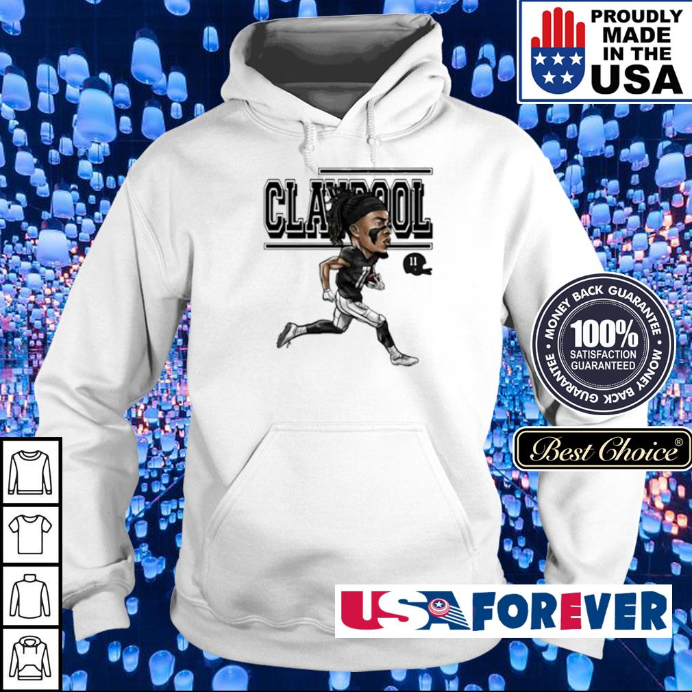 Chase Claypool running signature s hoodie