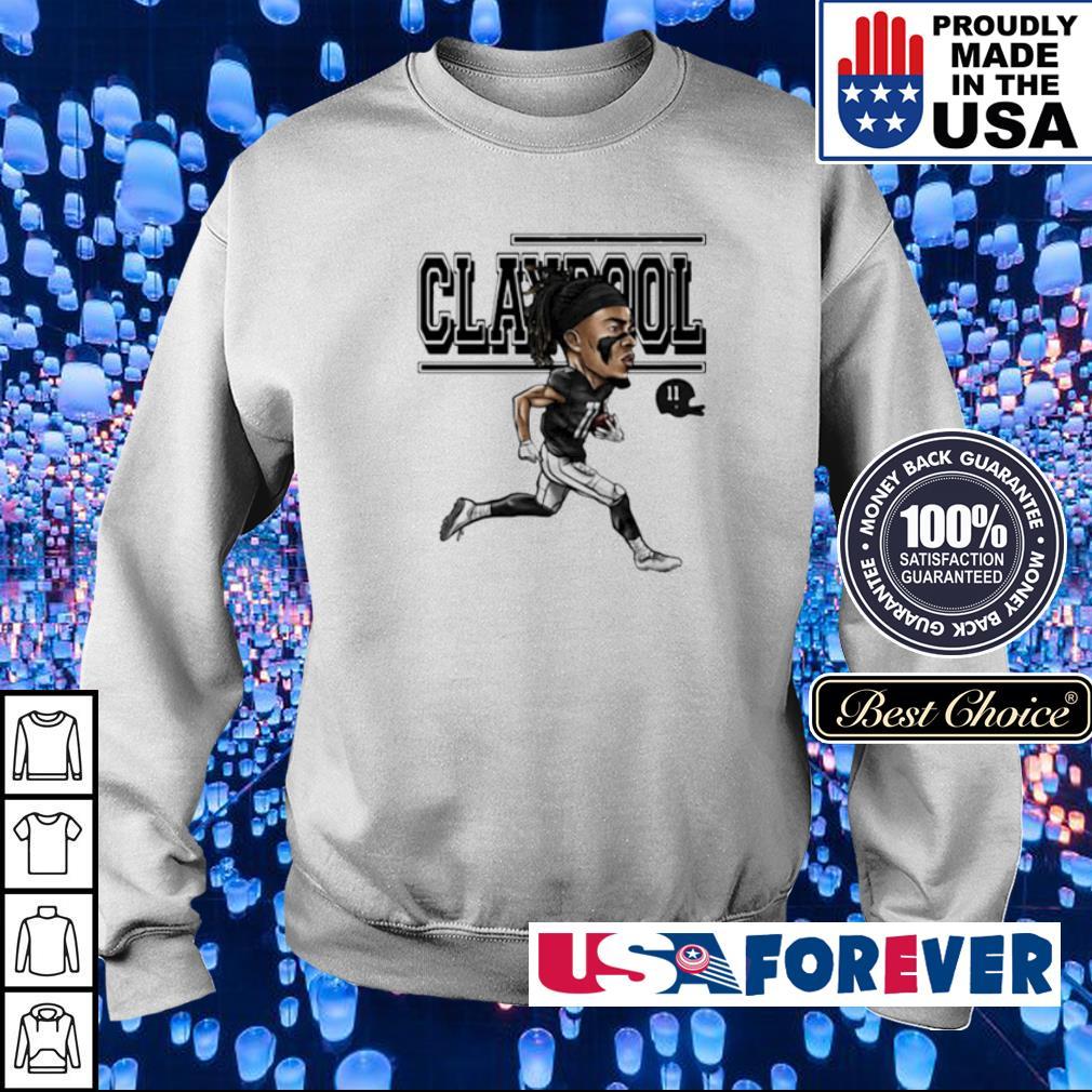 Chase Claypool running signature s sweater