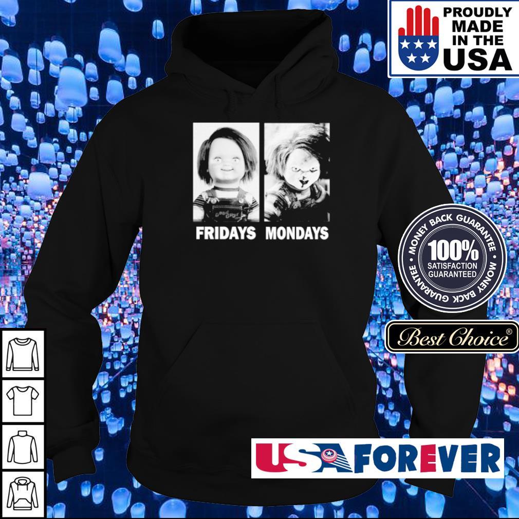 Chucky Doll fridays and mondays Halloween s hoodie