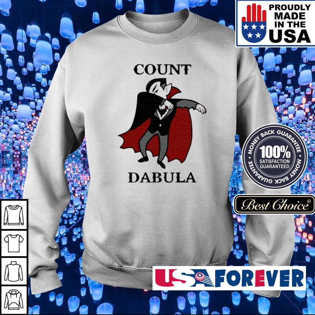 Count dabula happy Halloween s sweater