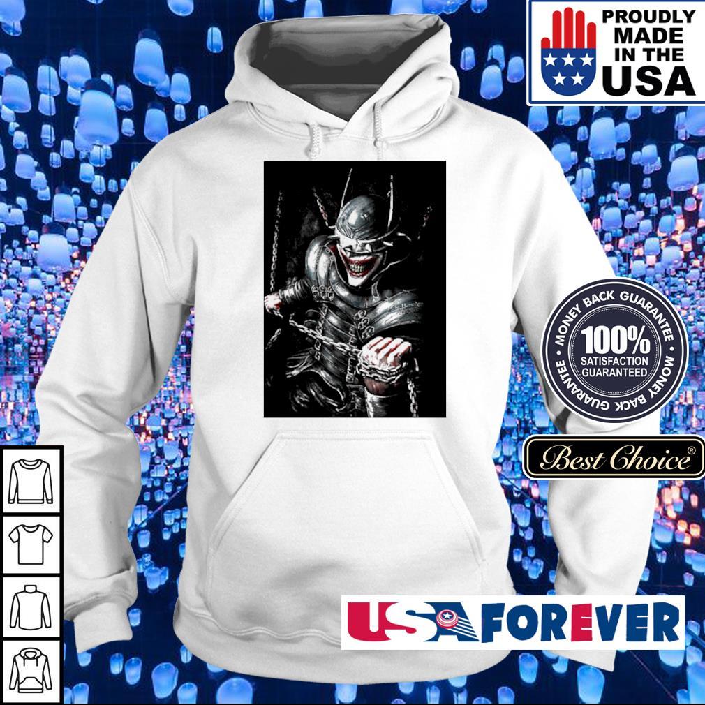Crazy Joker the bat who laughs s hoodie