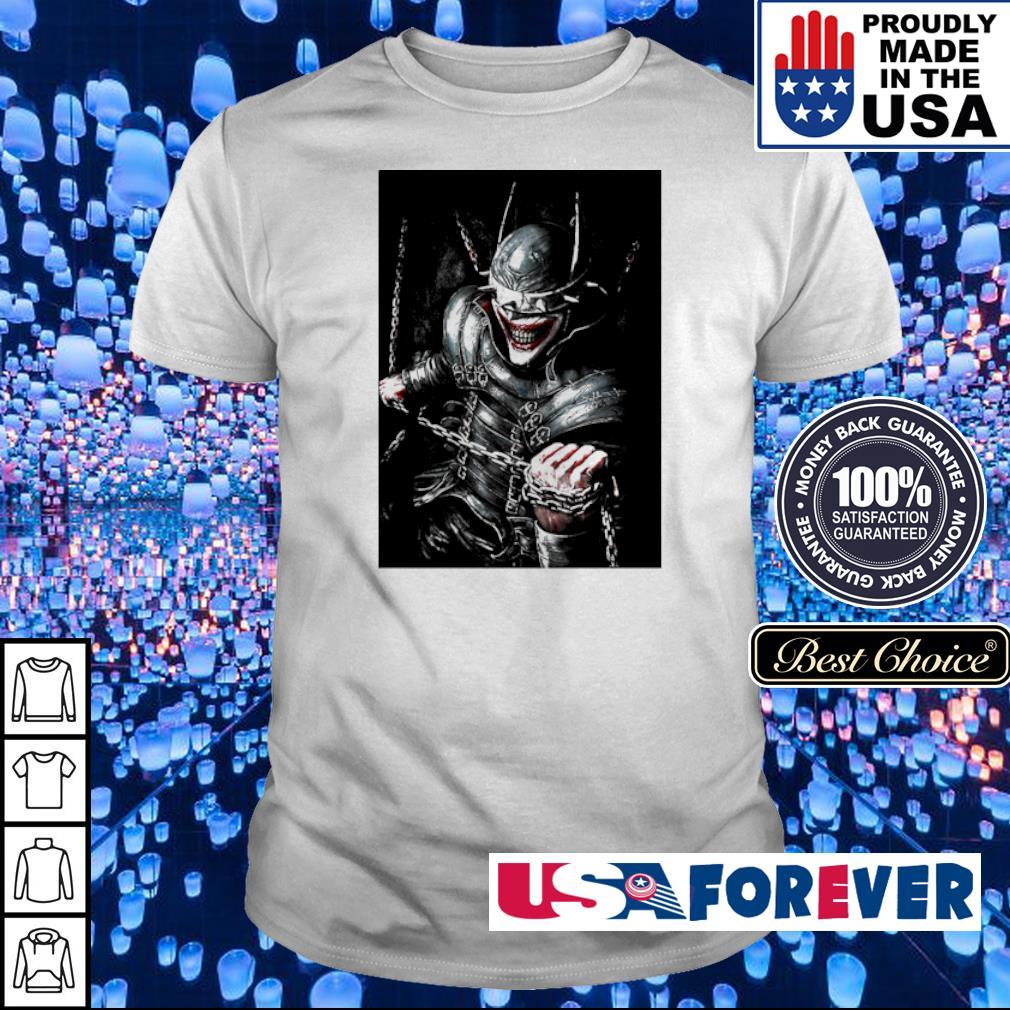 Crazy Joker the bat who laughs shirt