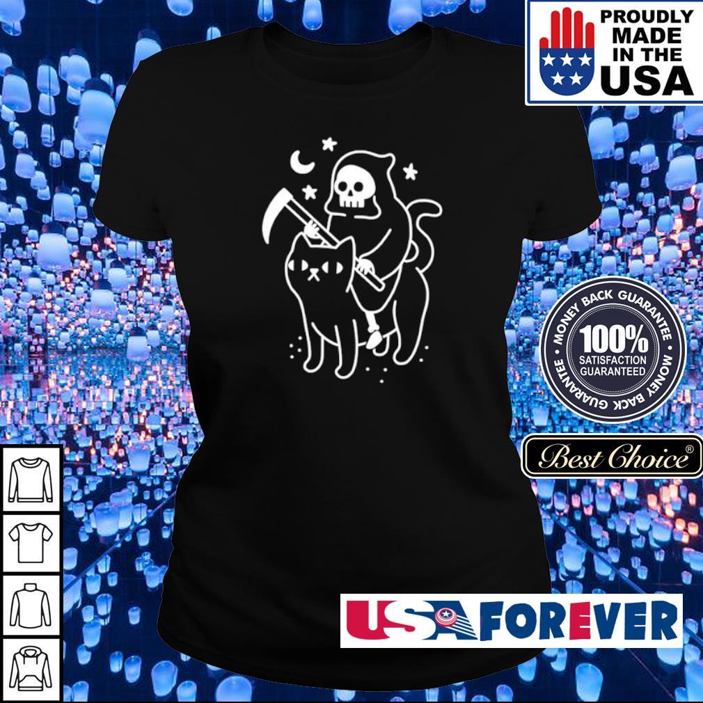 Death riding black cat s ladies