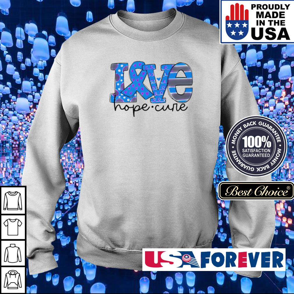Diabetes love hope cure s sweater
