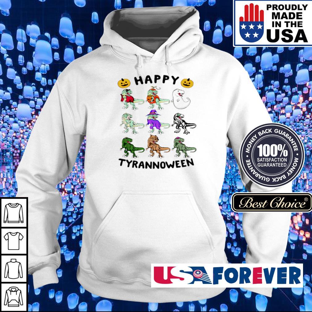 Dinosaur happy Tyrannoween Halloween s hoodie