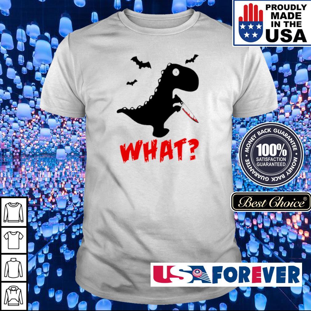 Dinosaur murderer T Rex what shirt