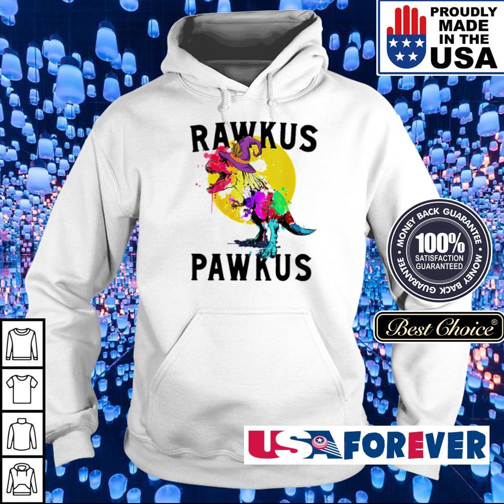 Dinosaur T Rex rawkus pawkus happy Halloween s hoodie