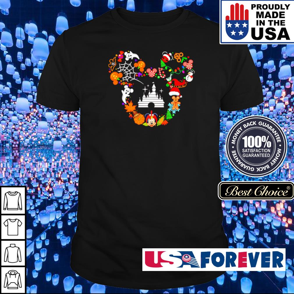 Disney Mickey Mouse happy Halloween shirt