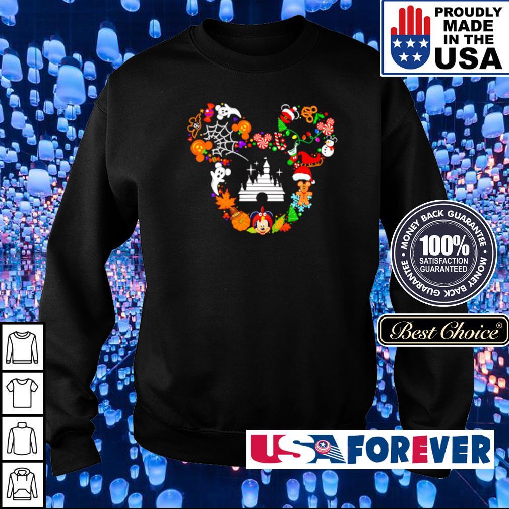 Disney Mickey Mouse happy Halloween s sweater