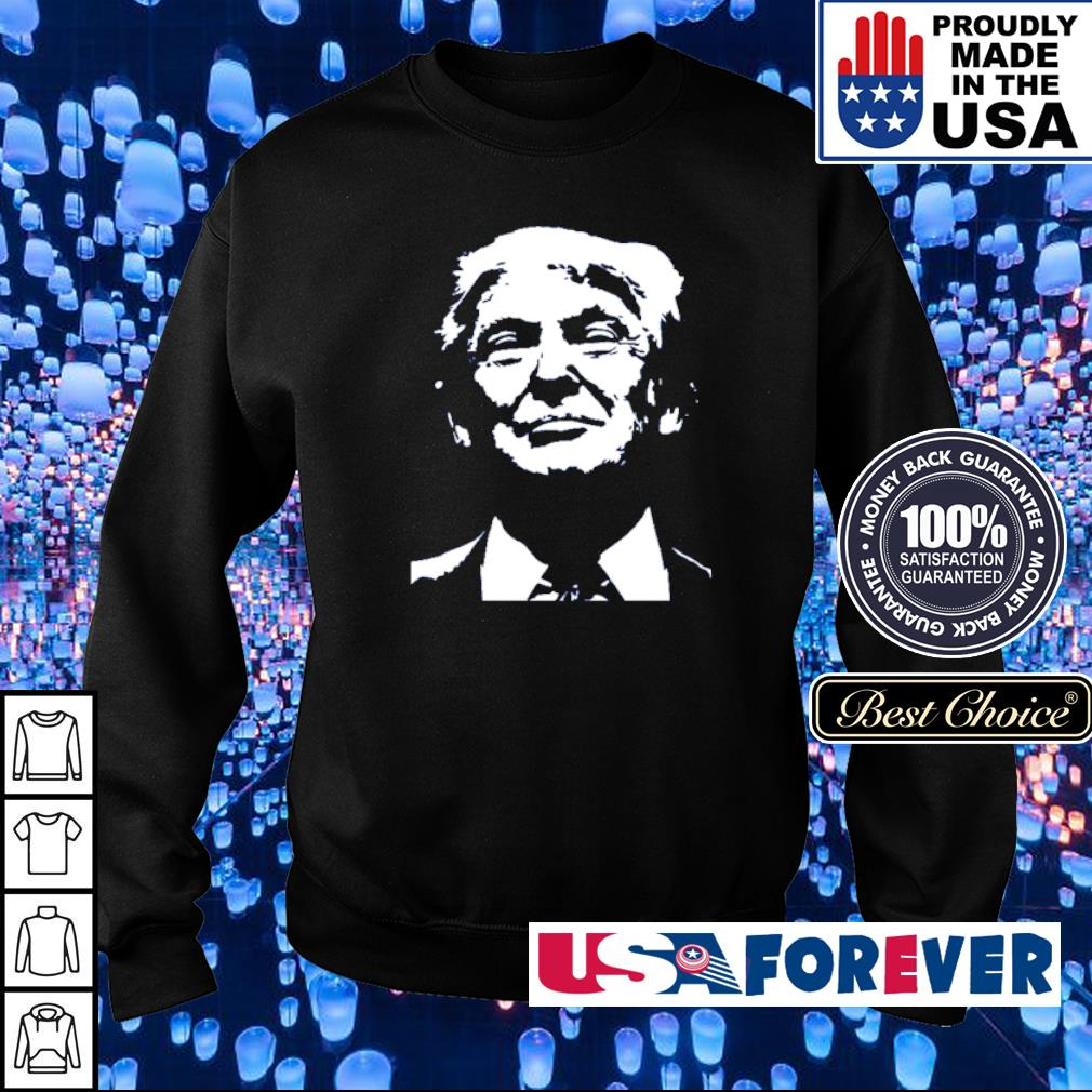 Donald Trump art drawing s sweater