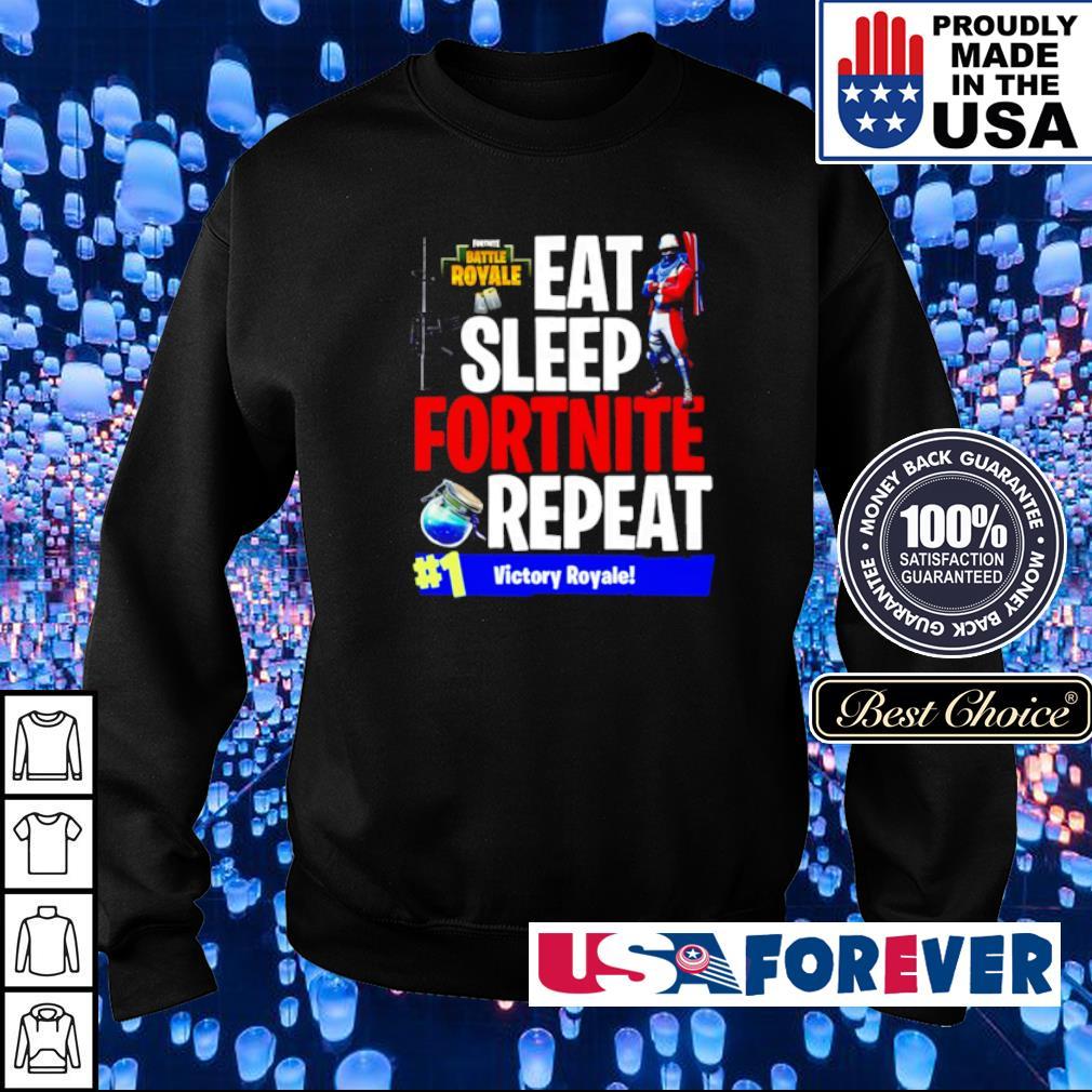 Eat sleep fortnite repeat #1 victory royale s sweater
