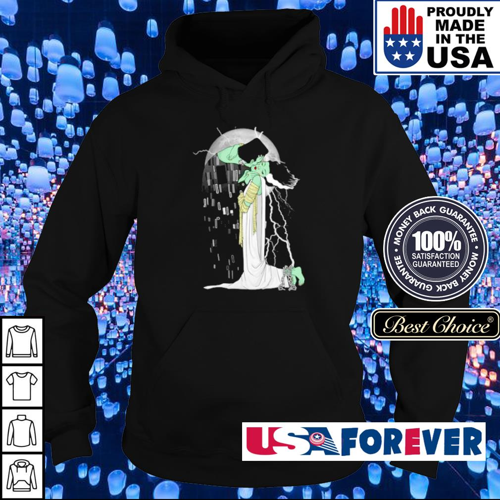 Frankenstein and Bride love beyond dead s hoodie