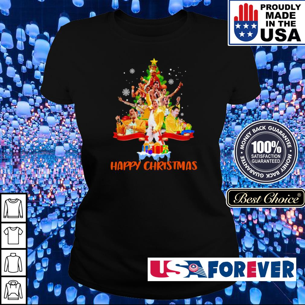 Freddie Mercury happy Christmas tree s ladies