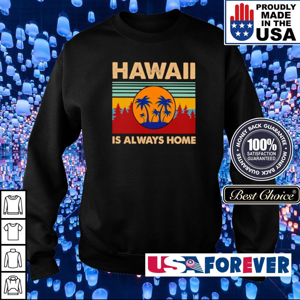 Hawaii is always home vintage s sweater