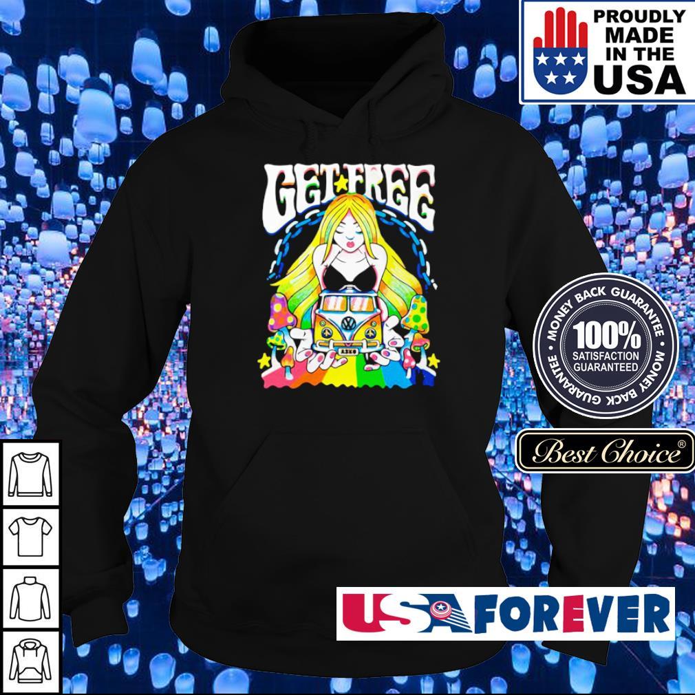 Hippie car get free s hoodie