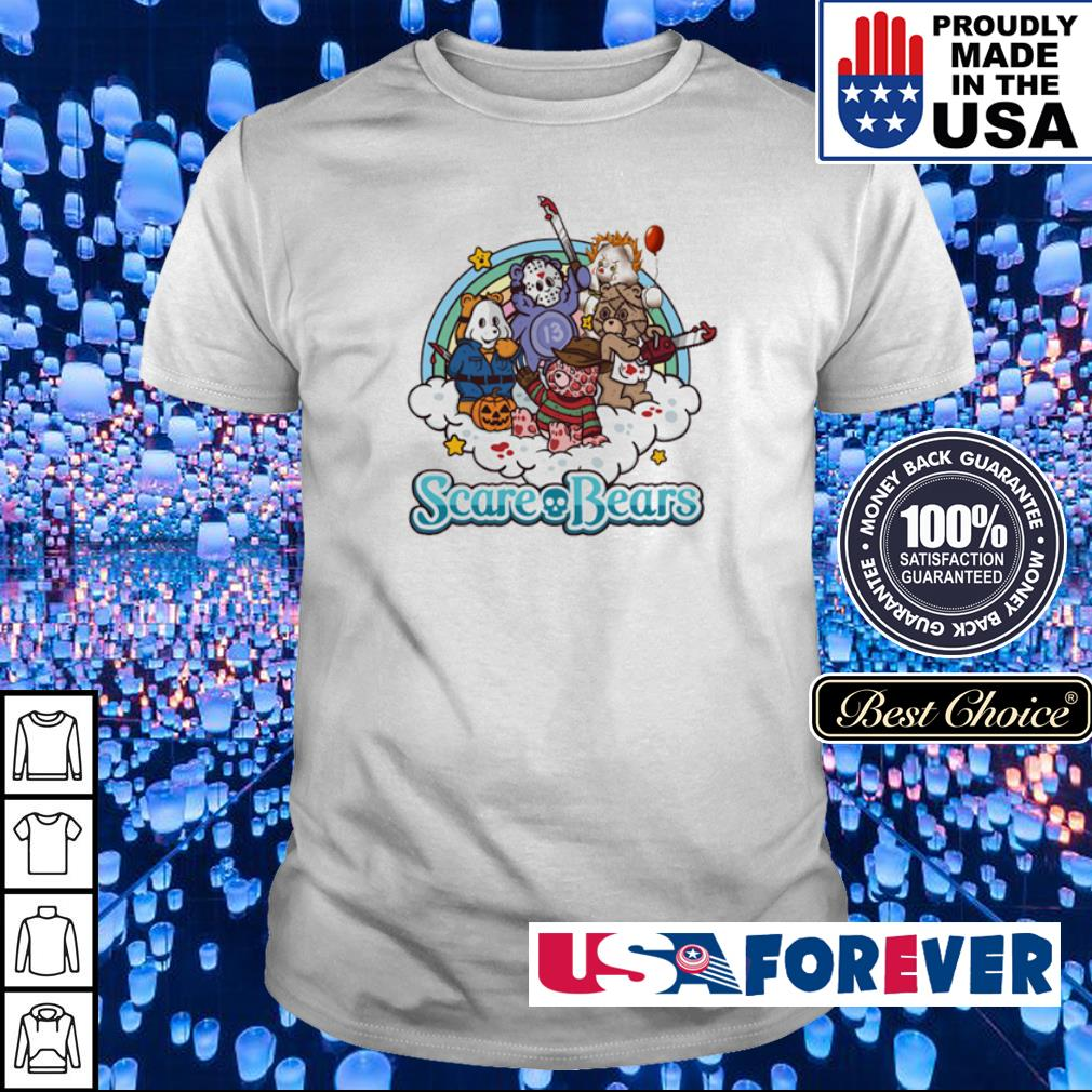 Horror characters scare bears shirt