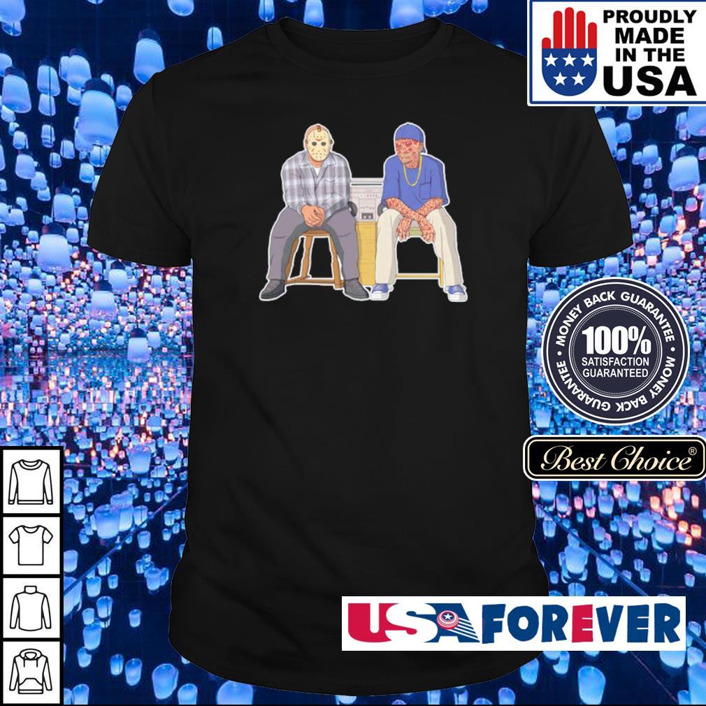 Jason Voorhees and Freddy Krueger swag shirt