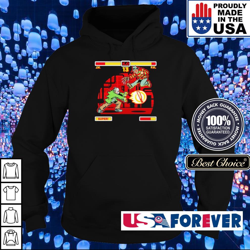 Jason Voorhees vs Freddy Krueger s hoodie
