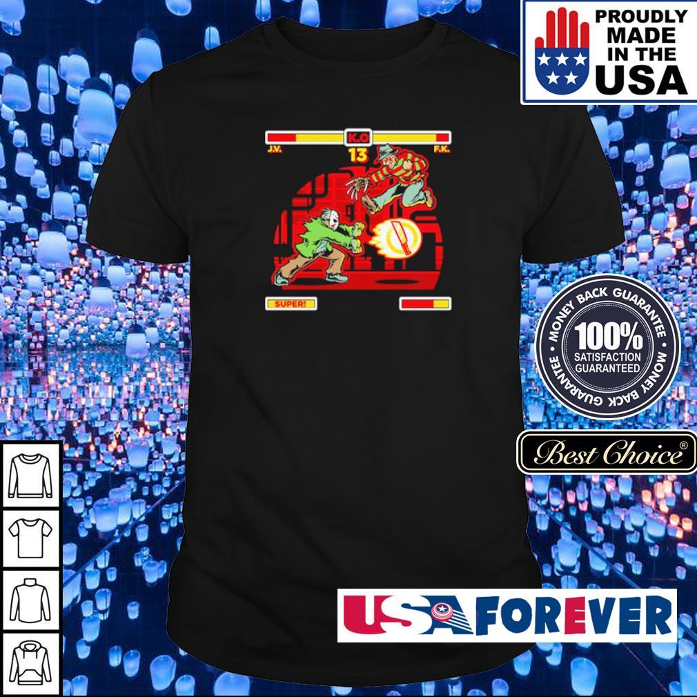 Jason Voorhees vs Freddy Krueger shirt
