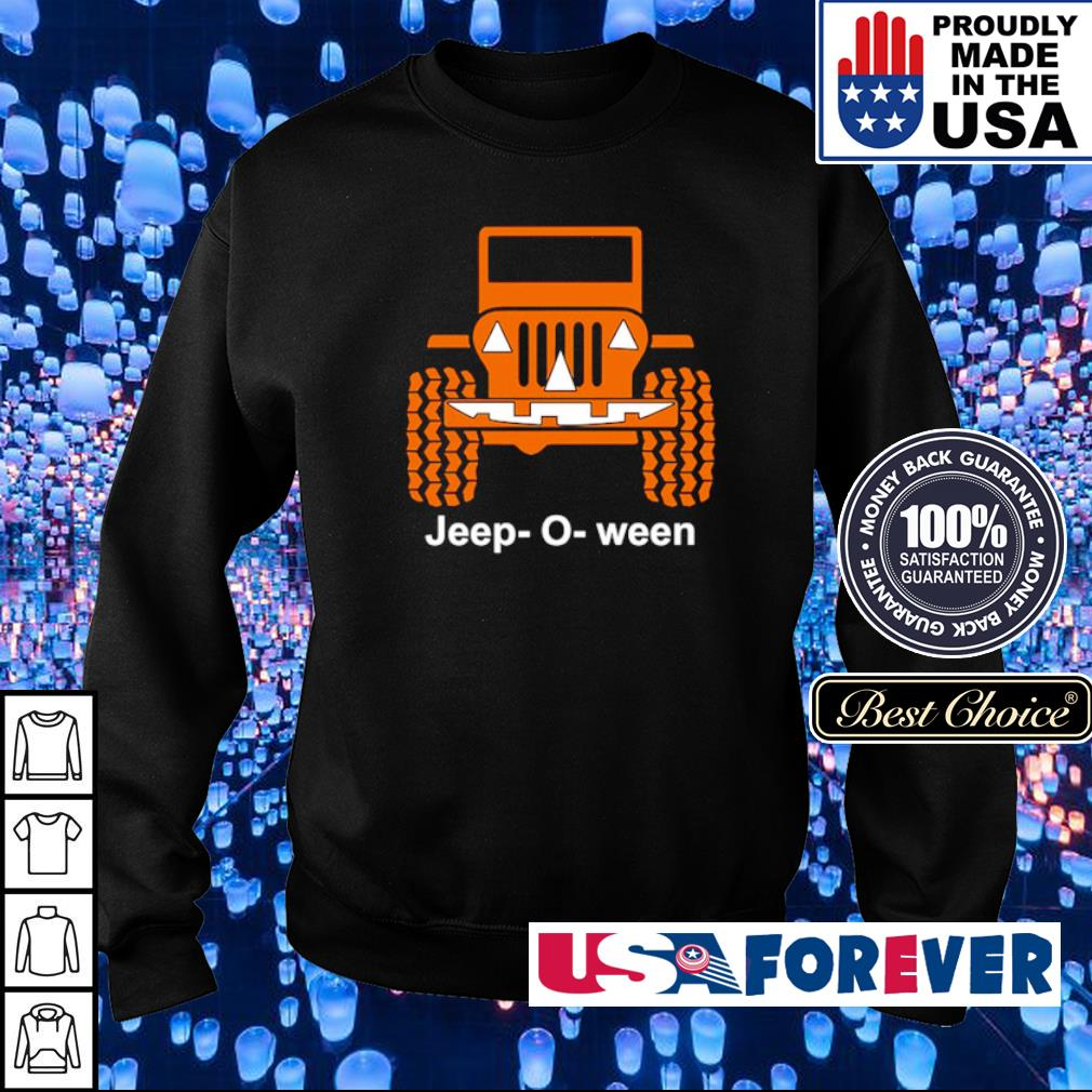 Jeep o ween pumpkin happy Halloween s sweater