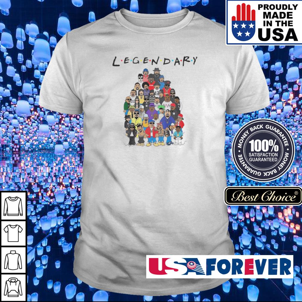 King of hip hop legendary Friends TV Show shirt