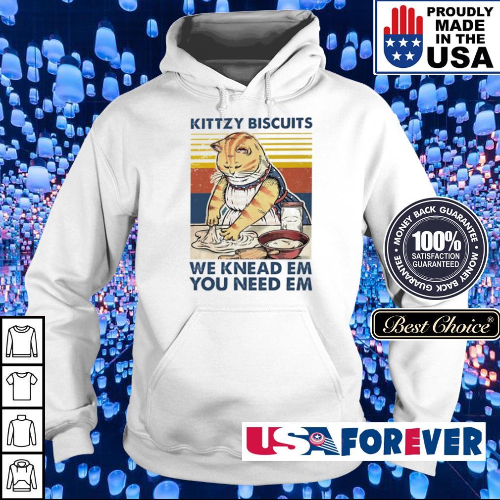Kittzy biscuits we knead em you needem vintage s hoodie