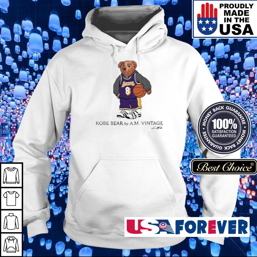 Kobe Bear by AM vintage signature s hoodie
