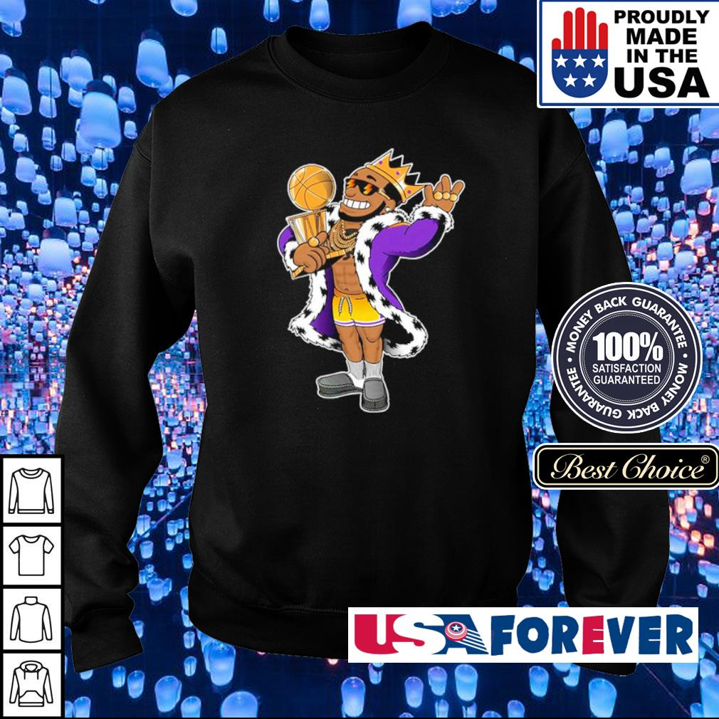 Lebron James the king champion s sweater