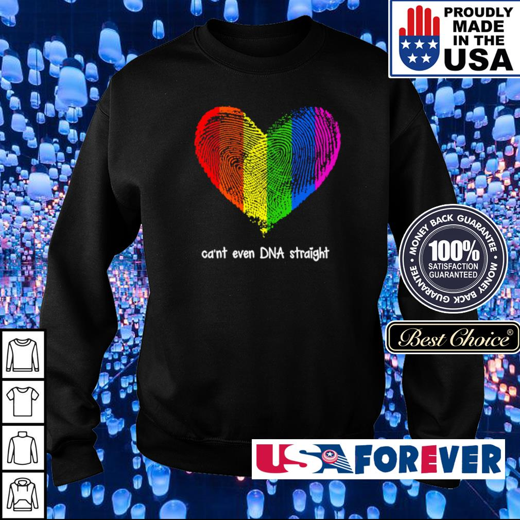 LGBT heart can't even DNA straight s sweater