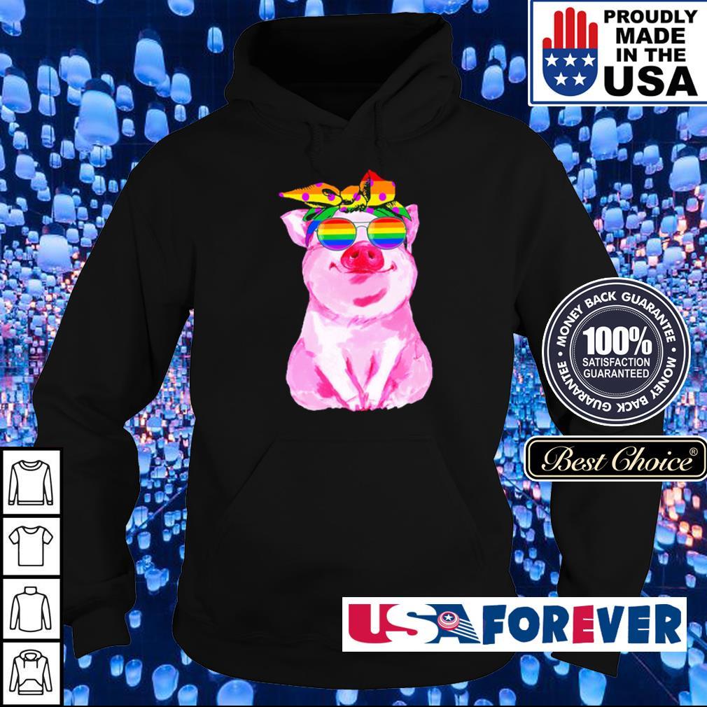 LGBT pig love is love s hoodie