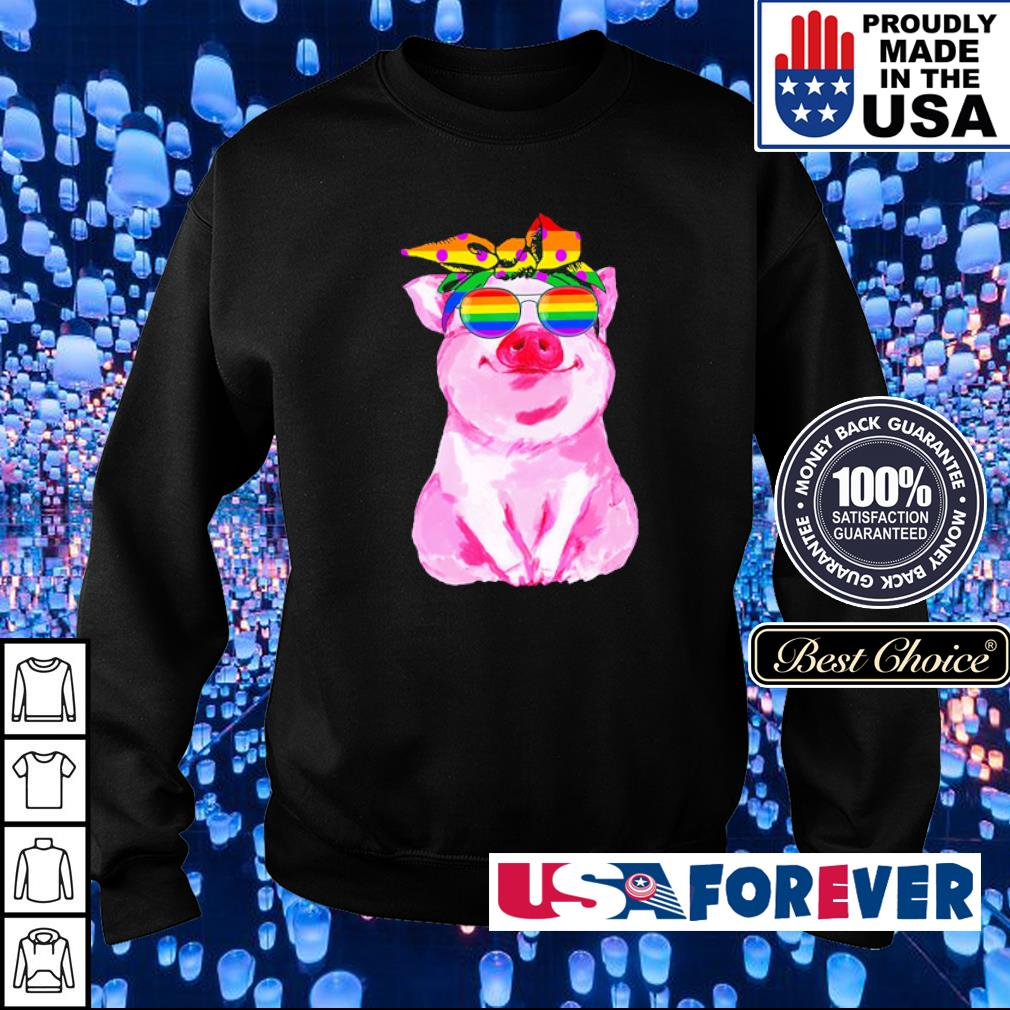 LGBT pig love is love s sweater