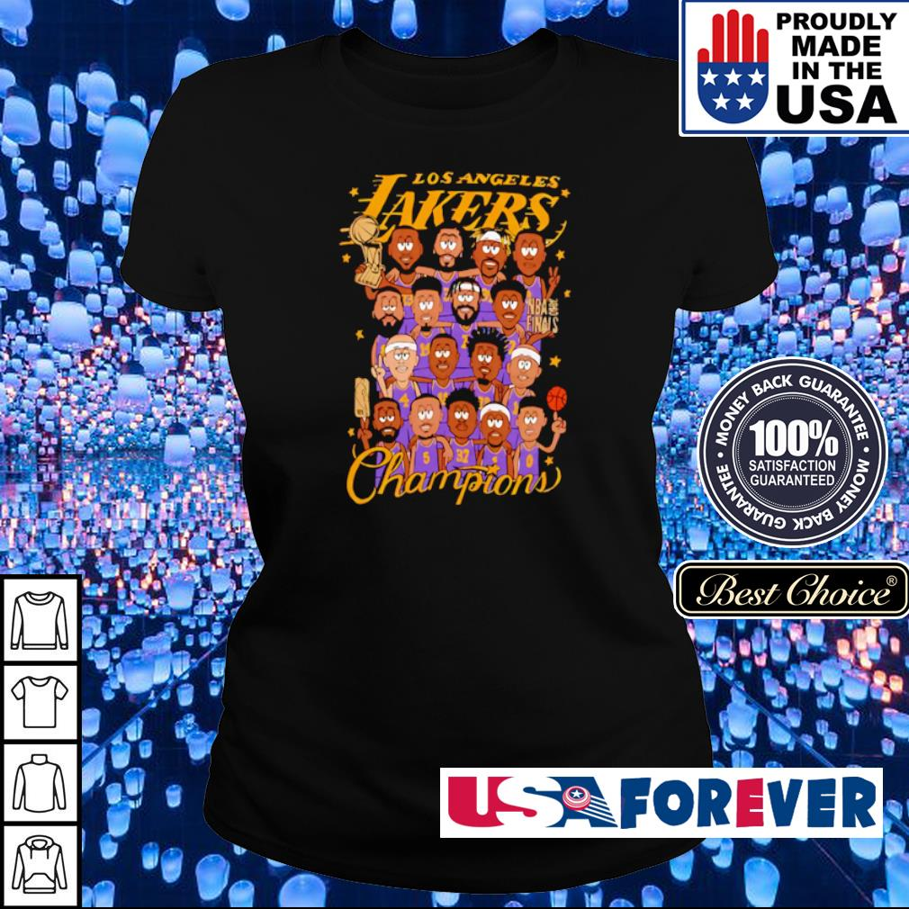 Los Angeles Lakers chibi players champions s ladies