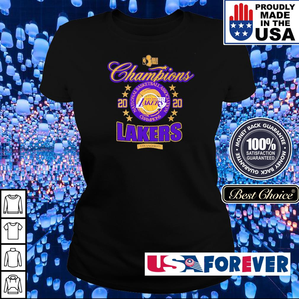 Los Angeles Lakers national basketball association champions 2020 s ladies