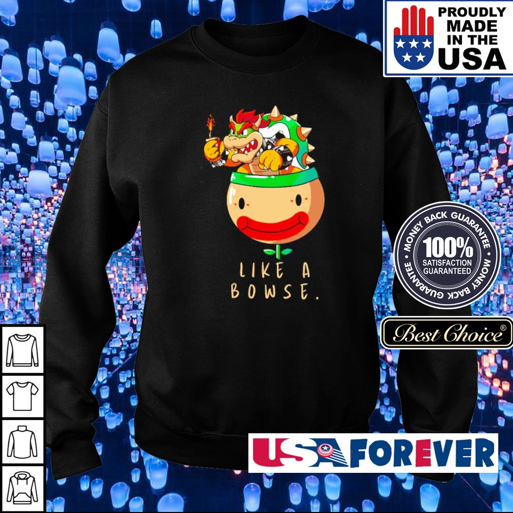 Mario Bros boss like a Bowse s sweater