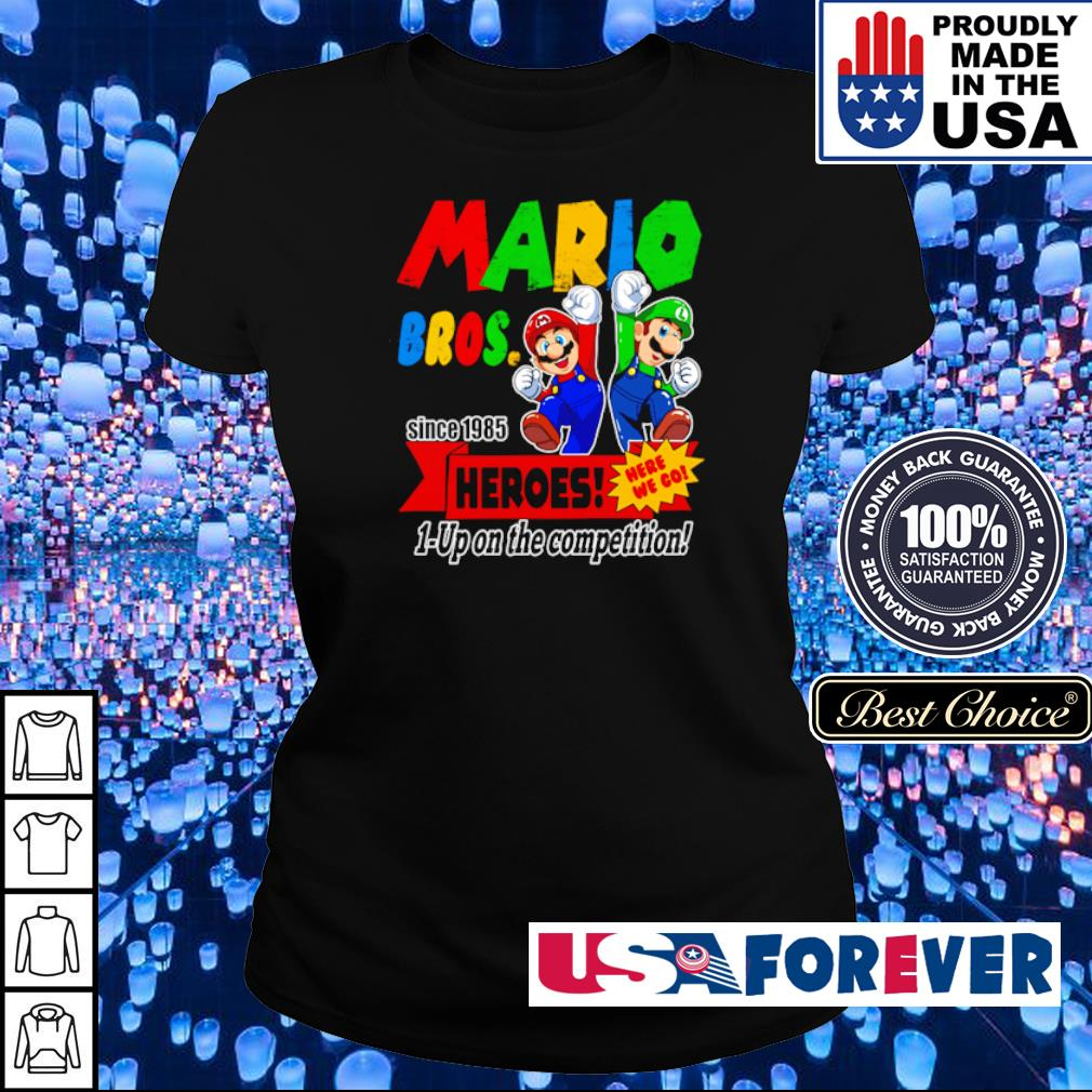 Mario bros since 1985 heroes up on the competition s ladies