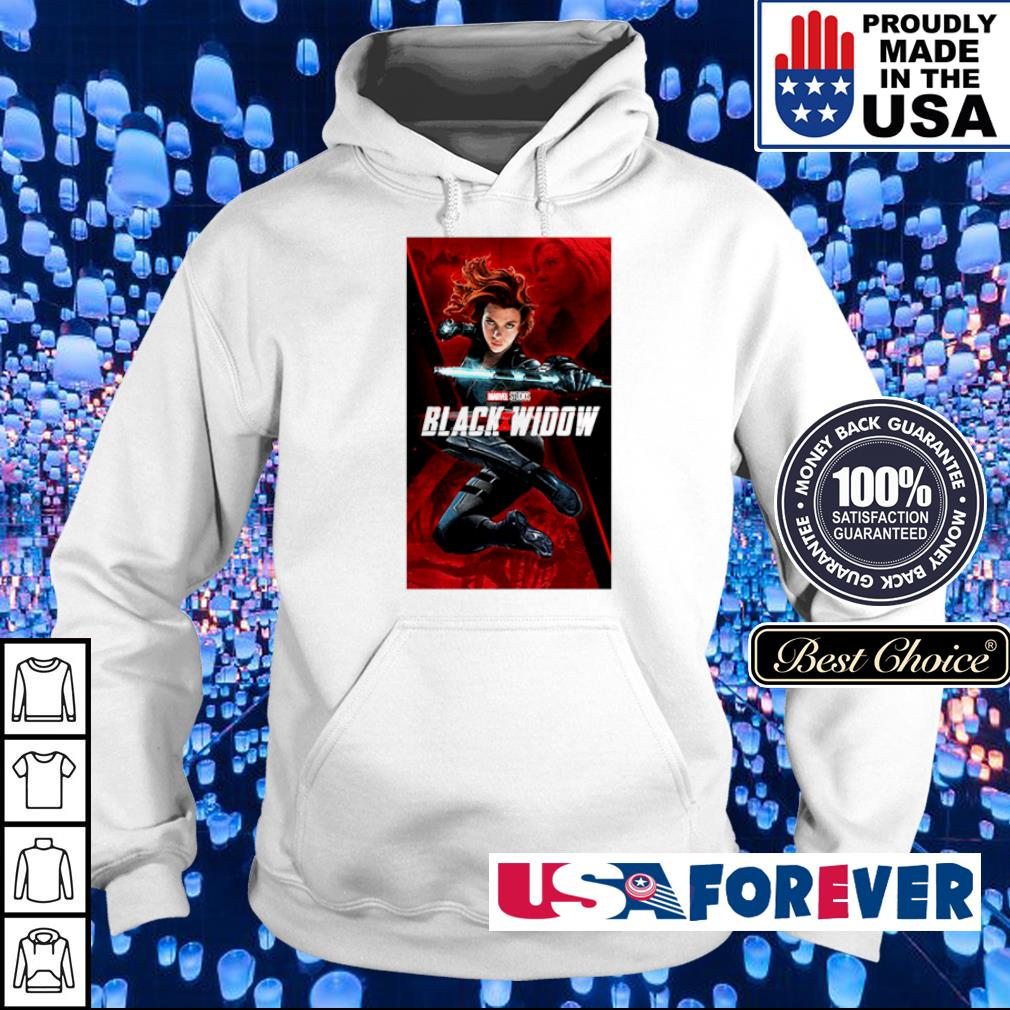 Marvel Studios Black Widow movie s hoodie