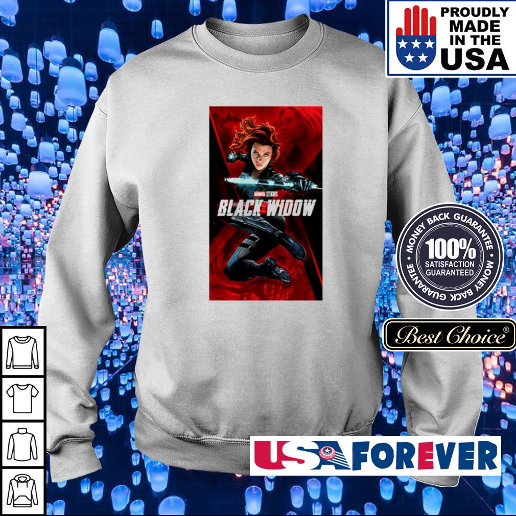 Marvel Studios Black Widow movie s sweater