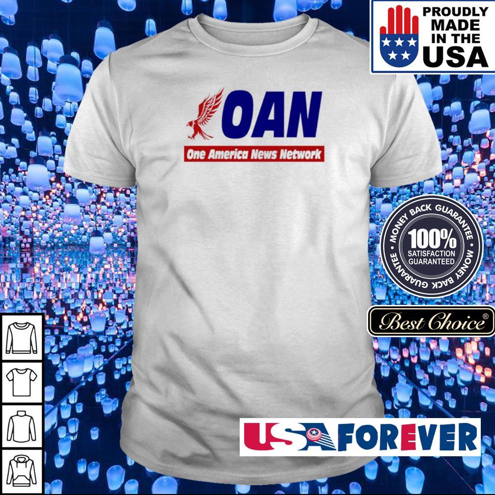 Mike Gundy oan one America news network shirt