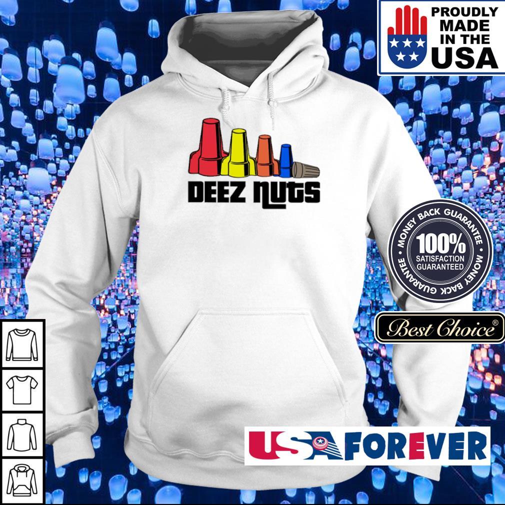 Official electrician deez nuts s hoodie