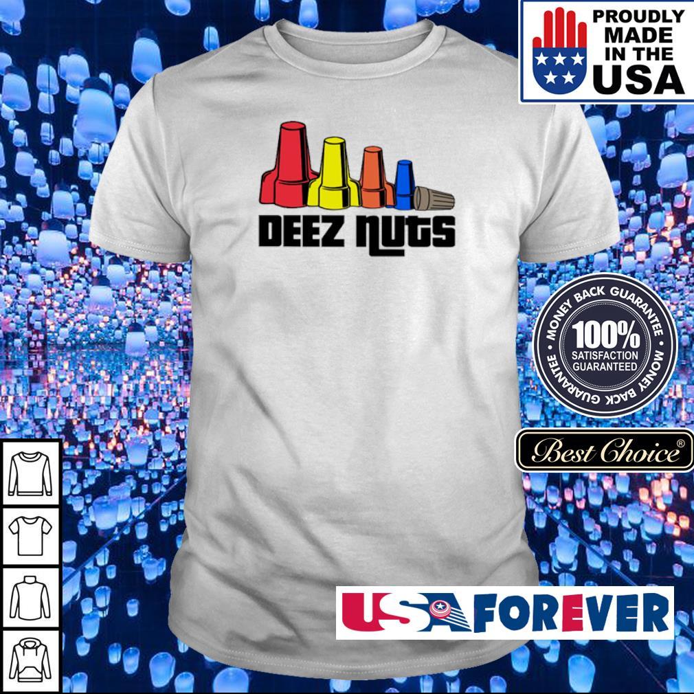 Official electrician deez nuts shirt