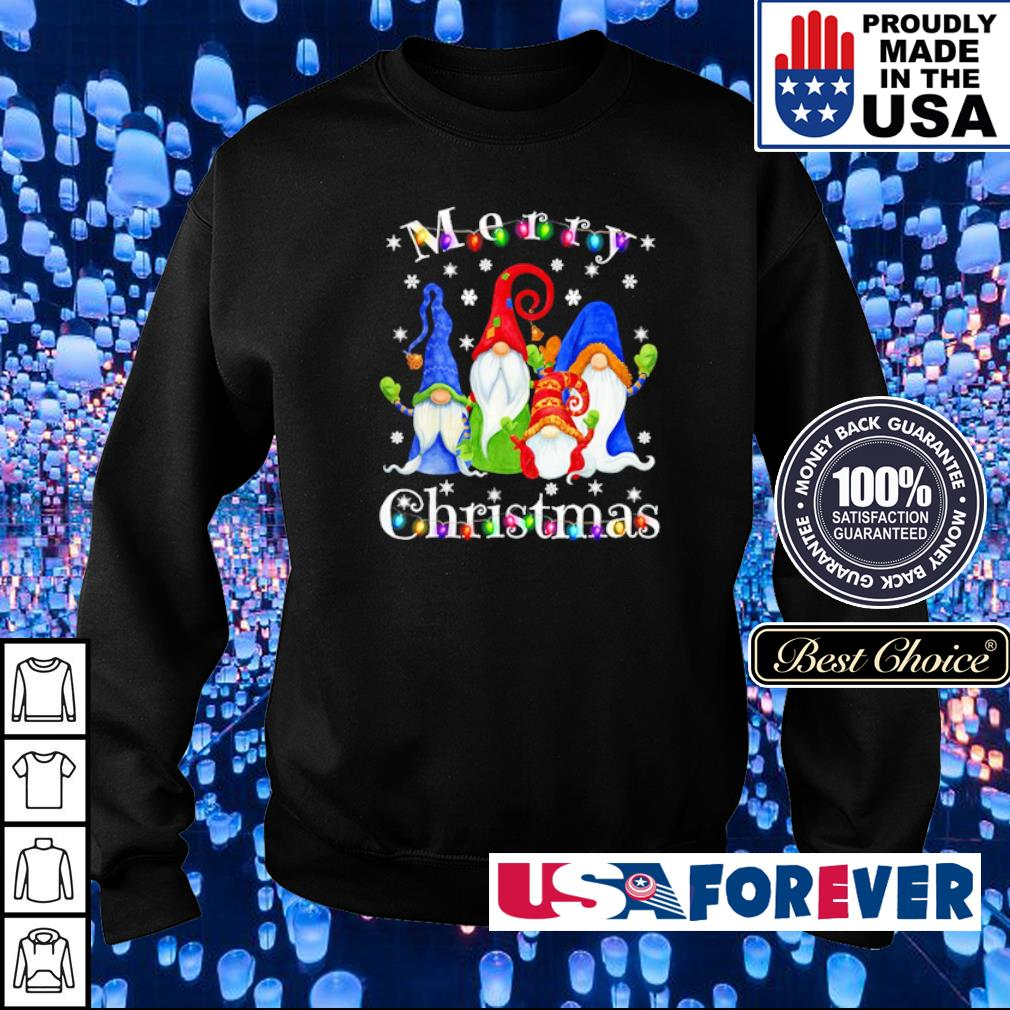 Official Gnome merry Christmas s sweater
