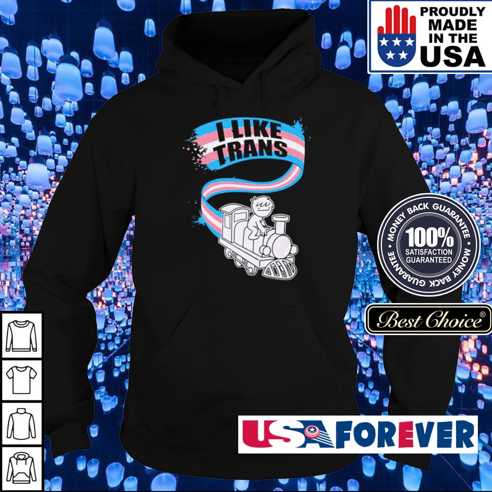 Official LGBT world I like trans s hoodie