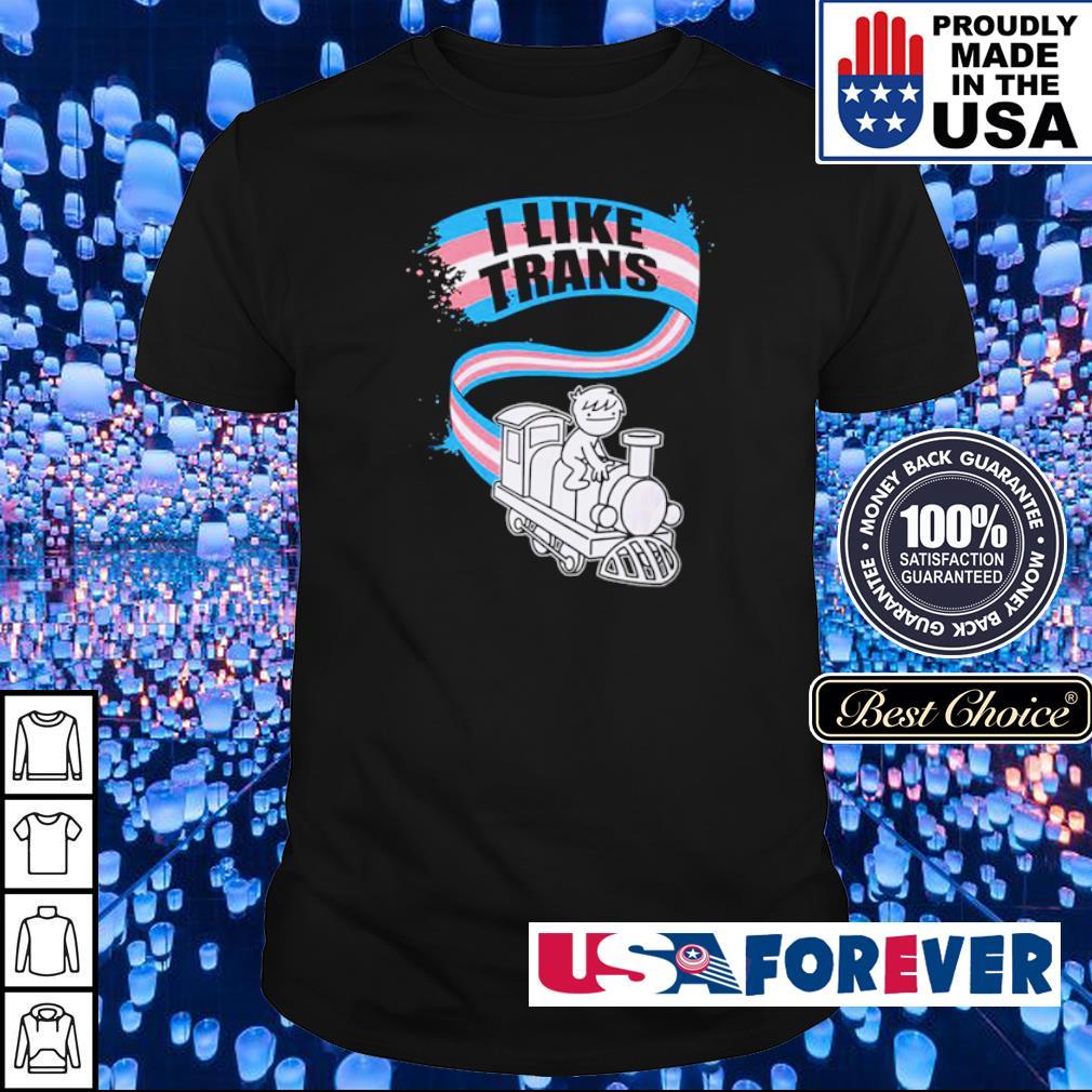 Official LGBT world I like trans shirt