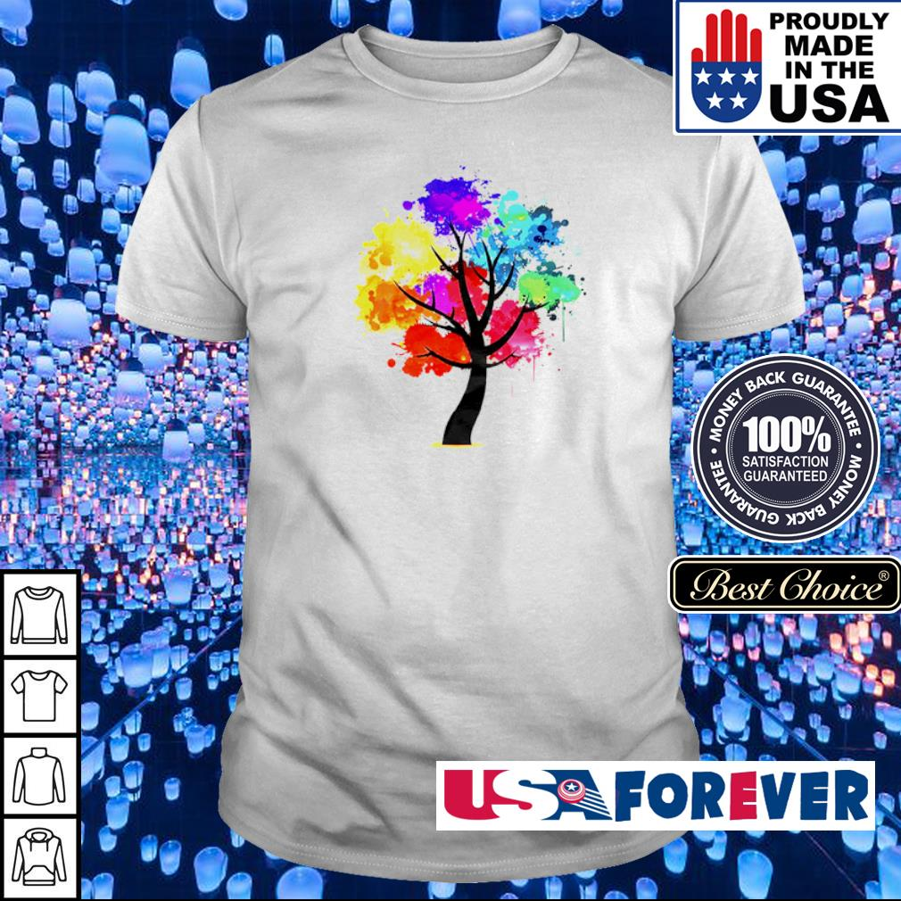 Official rainbow tree shirt